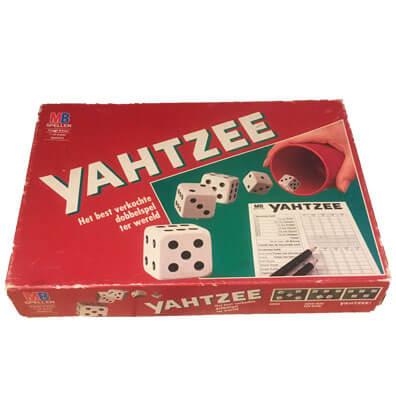 Yahtzee Bordspel Huren