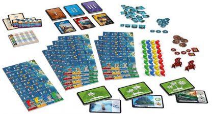 7 Wonders Armada Bordspel Onderdelen