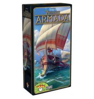 7 Wonders Armada Bordspel Productfoto