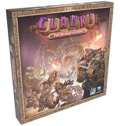 Clank Mummy's Bordspel Productfoto
