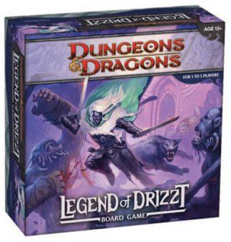 Dungeons & Dragons Legend of Drizzt Bordspel Productfoto
