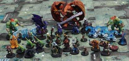 Dungeons & Dragons Legend of Drizzt Geverfde Miniaturen