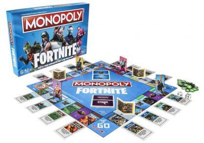 Monopoly Fortnite Bordspel Onderdelen