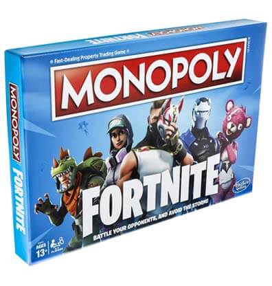 Monopoly Fortnite Bordspel Productafbeelding