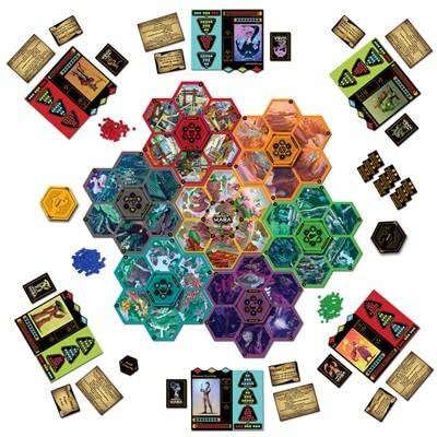 Champions of Hara Bordspel Speelbord en Onderdelen