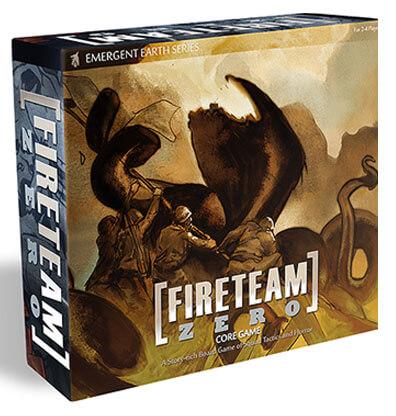Fireteam Zero Bordspel Onderdelen