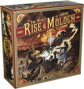 Productfoto van het bordspel The World of SMOG Rise of Moloch