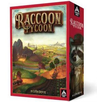 Raccoon Tycoon Bordspel Productfoto