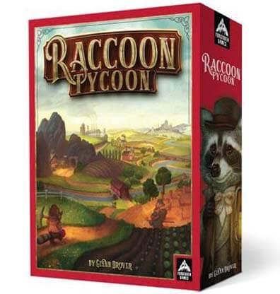 Raccoon Tycoon Bordspel Productfoto