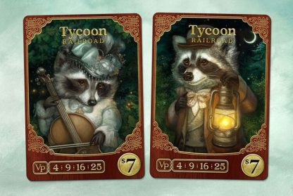 Raccoon Tycoon Bordspel Speelkaarten