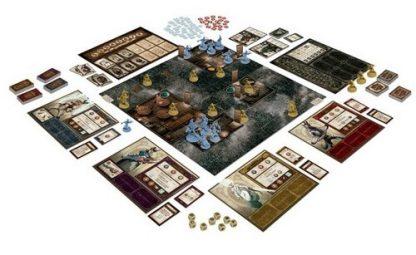 Speelbord van het bordspel The World of SMOG Rise of Moloch