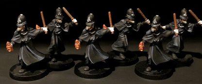 Spelfiguren van het bordspel The World of SMOG Rise of Moloch