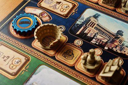 Victorian Masterminds Bordspel Spelimpressie