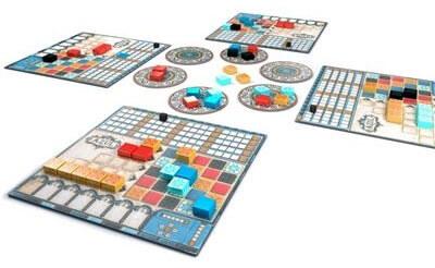 Azul (Nederlands) Bordspel Speelbord en Onderdelen
