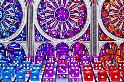 Sagrada (Engels) Bordspel Dobbelstenen