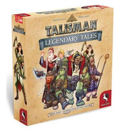 Talisman Legendary Tales Bordspel Productfoto