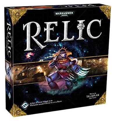 Warhammer 40K Relic Premium Edition Bordspel Productfoto