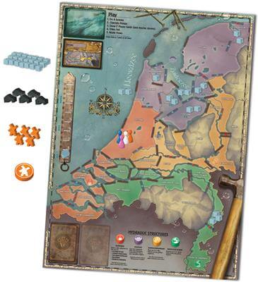 Pandemic Rising Tide Engels Bordspel Speelkaart