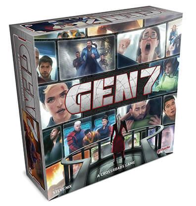 Gen7 A Crossroads Game Bordspel Productfoto