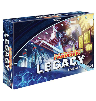Pandemic Legacy Season 1 Blue Engels Bordspel Productfoto