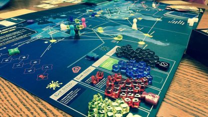 Pandemic Legacy Season 1 Blue Engels Bordspel Spelimpressie