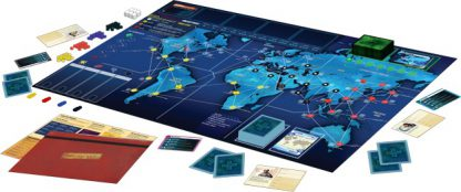 Pandemic Legacy Season 1 Blue Engels Spelonderdelen