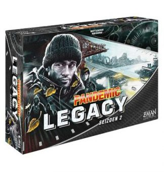 Pandemic Legacy Season 2 Black Engels Bordspel Productfoto
