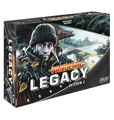 Pandemic Legacy Season 2 Black Engels Bordspel Productfoto