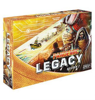 Pandemic Legacy Season 2 Yellow Engels Bordspel