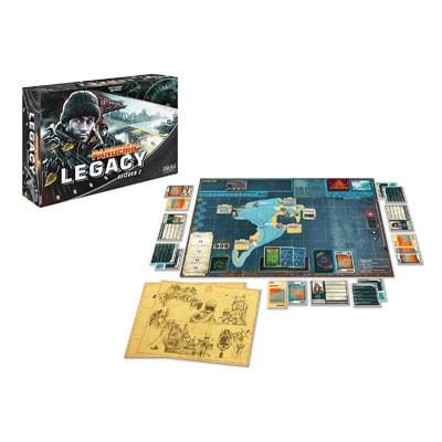 Speelbord en kaarten Pandemic Legacy Season 2 Black Engels