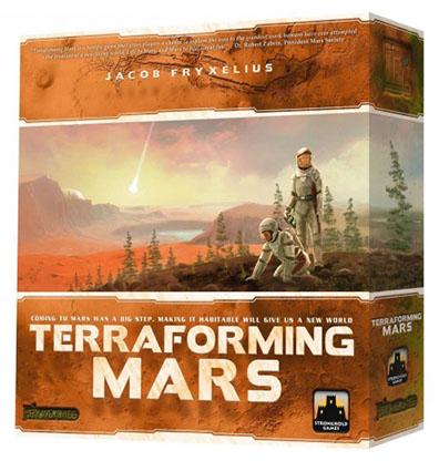 Terraforming Mars Bordspel Productfoto