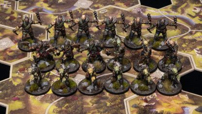 The Lord of the Rings Journeys in Middle Earth Bordspel Geverfde Figuren