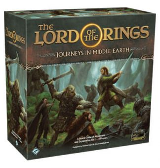 The Lord of the Rings Journeys in Middle Earth Bordspel Productfoto