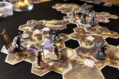 The Lord of the Rings Journeys in Middle Earth Bordspel Spelimpressie