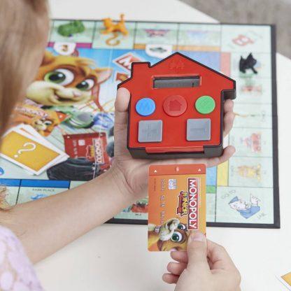 Monopoly Junior Elektronisch Bankieren Bordspel Pinpas