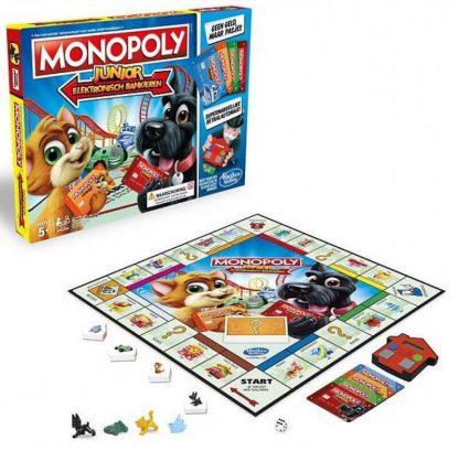 Monopoly Junior Elektronisch Bankieren Bordspel Spelonderdelen