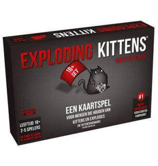 Productfoto van het bordspel Exploding Kittens NSFW Nederlands