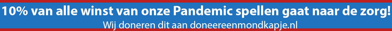 Pandemic actie doneer een mondkapje