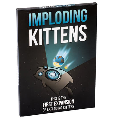 Imploding Kittens Kaartspel Productfoto