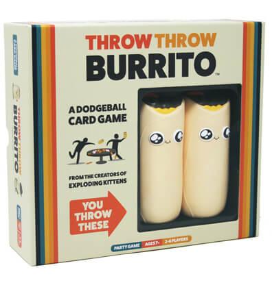 Throw Throw Burrito Bordspel Productfoto