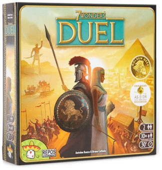 7 Wonders Duel Bordspel Productfoto