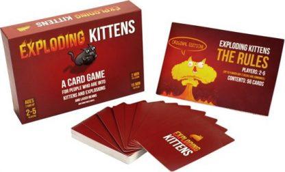 Exploding Kittens Engels