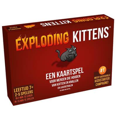Exploding Kittens Nederlands Achterkant Kaarten