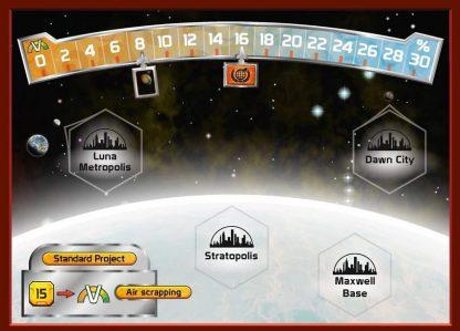 Terraforming Mars Venus Next Speelbord