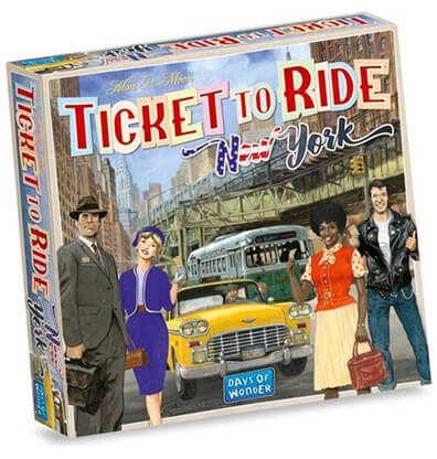 Ticket to Ride New York Bordspel Productfoto