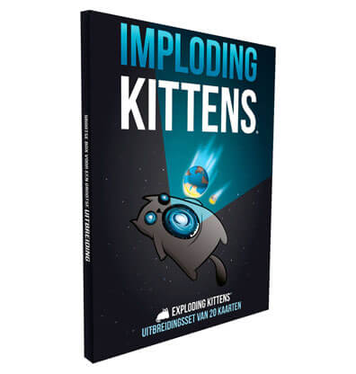 Imploding Kittens Nederlands Kaartspel Productfoto