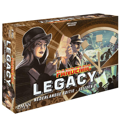 Pandemic Legacy Seizoen 0 Nederlands Bordspel Productfoto