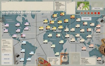 Pandemic Legacy Seizoen 0 Nederlands Bordspel Speelbord