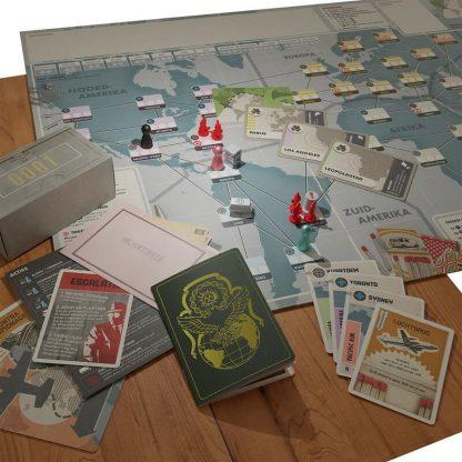 Pandemic Legacy Seizoen 0 Nederlands Bordspel Spelimpressie