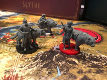 Scythe the Rise of Fenris Bordspel Figuren